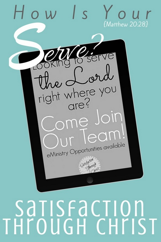 How Is Your Serve? Are you finding that you accept lots of obstacles when you feel led to serve God's kingdom? It's easy to over-complicate, but we've called out too big culprits that keep us from serving Him. | Satisfaction Through Christ