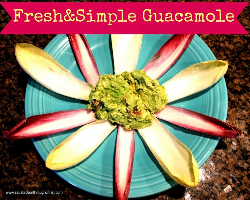 Fresh and Simple Guacamole | Satisfaction Through Christ