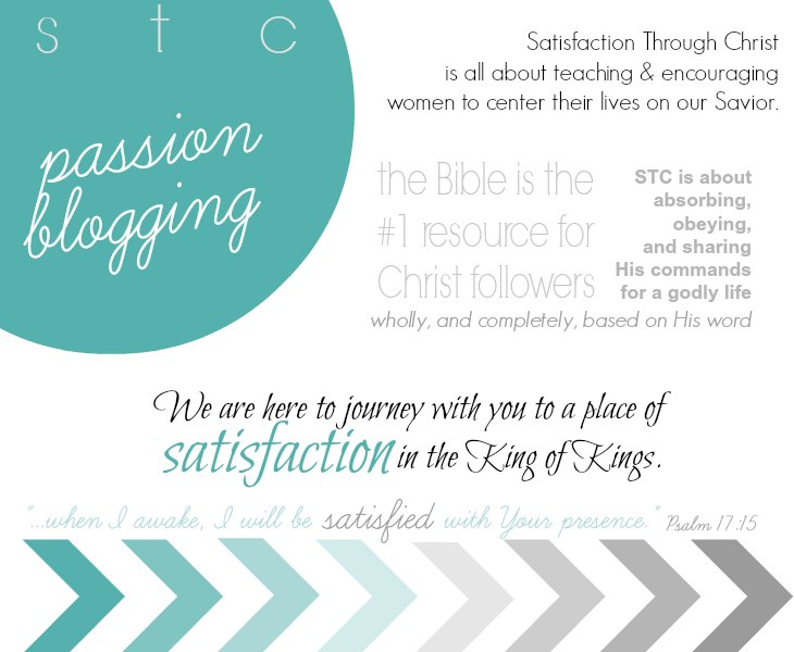 Searching for a blog home for Christian women and families? Satisfaction Through Christ wants to journey with you towards King Jesus. We cover topics like marriage, homemaking, parenting, Christian living, and more!