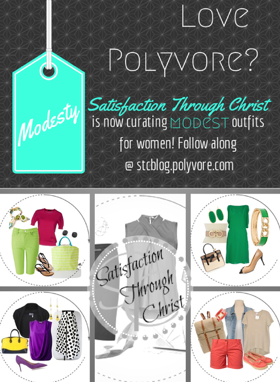How To Find Modest Outfit Ideas on Polyvore from Satisfaction Through Christ
