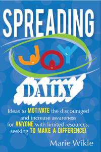 Get your copy of Spreading Joy Daily and start impacting hearts today!