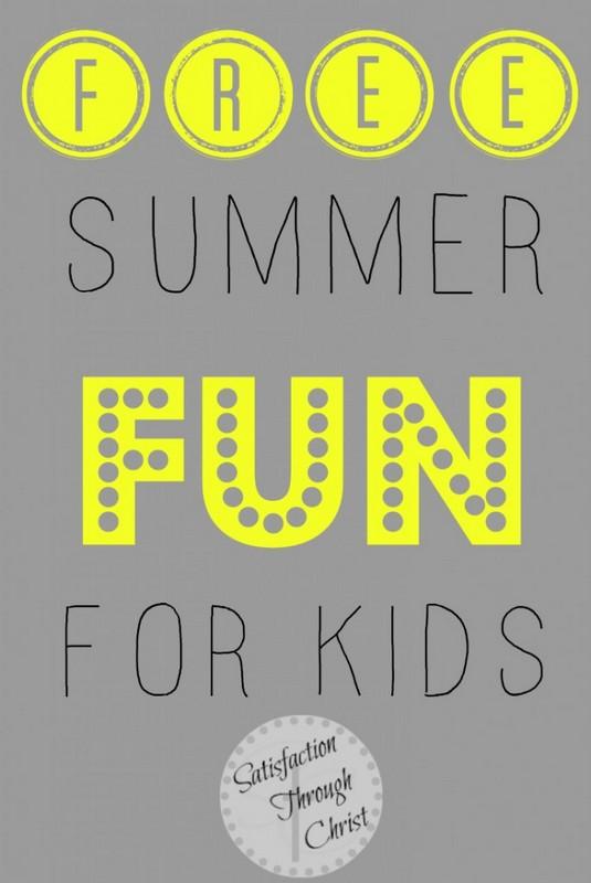 Free Summer Fun for Kids