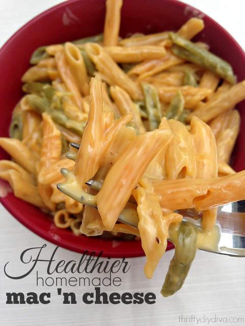 Healthier Homemade Mac n Cheese Recipe