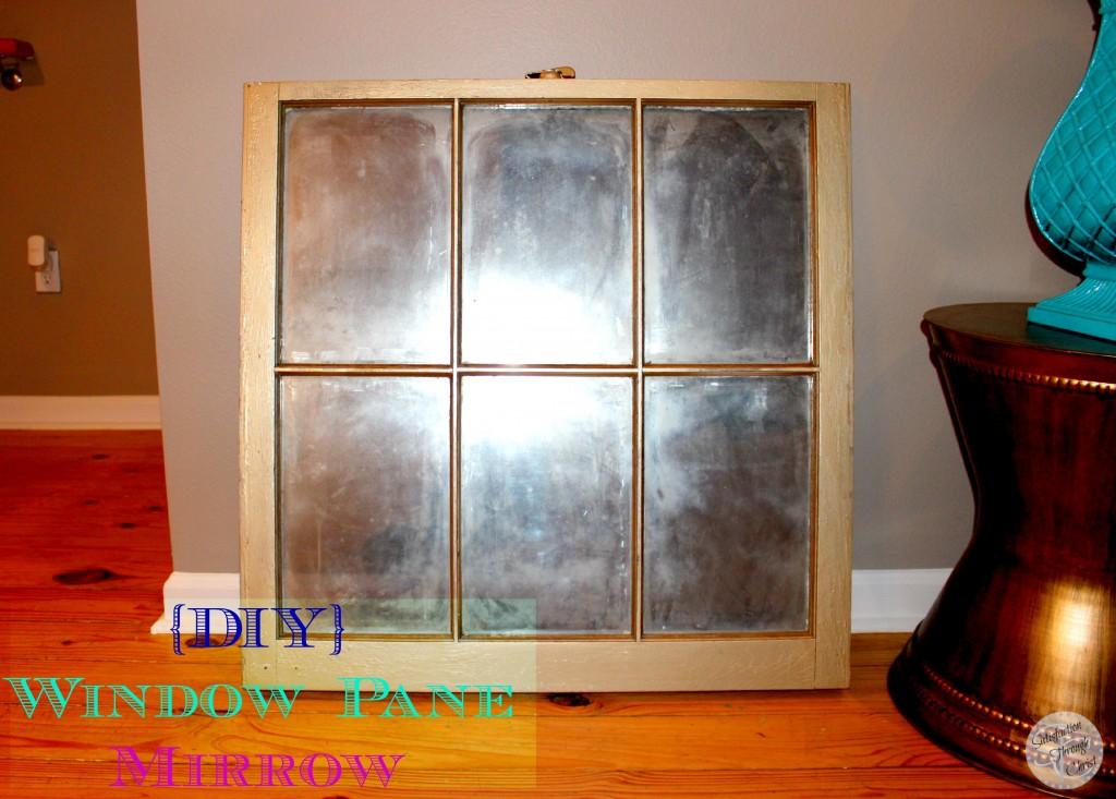 Old Window Pane Turned Antique Mirror Satisfaction