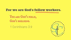 1 Corinthians 3:9 Bible Verse Image | Satisfaction Through Christ