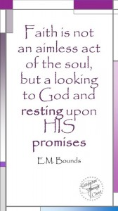 Faith is not an aimless act | Satisfaction Through Christ