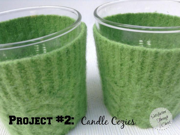 DIY Felt Candle Cozies