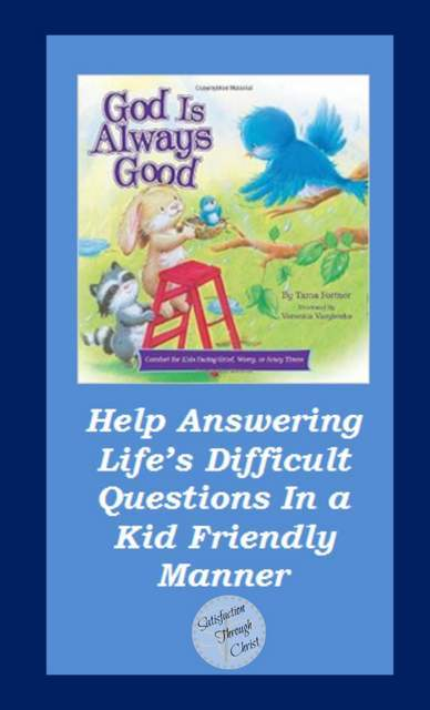 God Is Always Good   Review and Giveaway