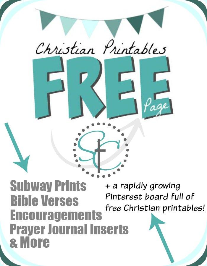 Christian Printables - Free Prints Round Up | Satisfaction