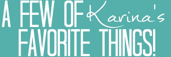 Karina's Favorite Things | Satisfaction Through Christ | Holiday Gift Guide