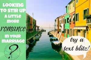 STC shares a simple way to send your spouse a text blitz to brighten their day or perhaps flirt a bit! | Satisfaction Through Christ
