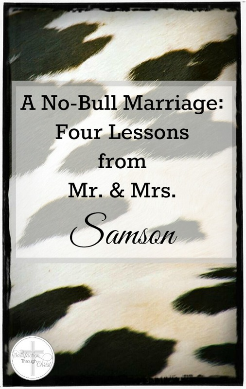 samson marriage