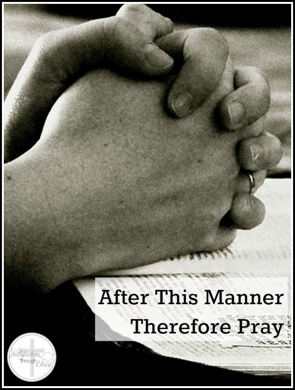 manner pray