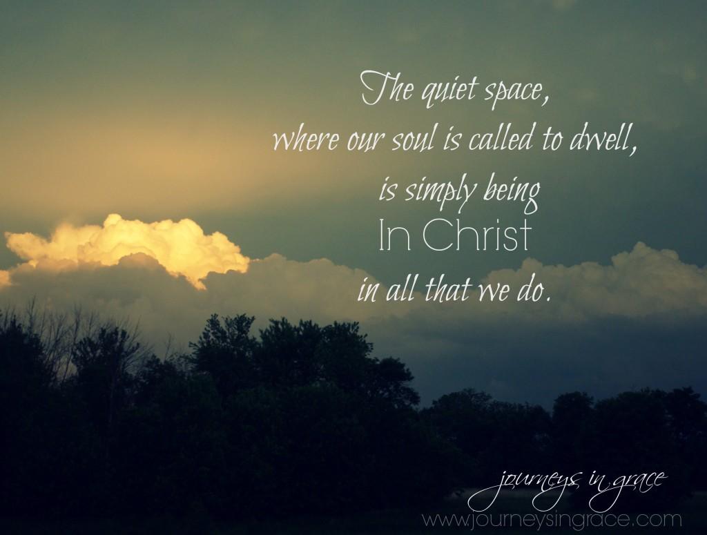 Into the Stillness | Journeys in Grace