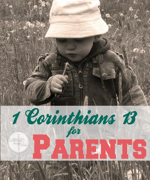 1 Corinthians 13 for Parents