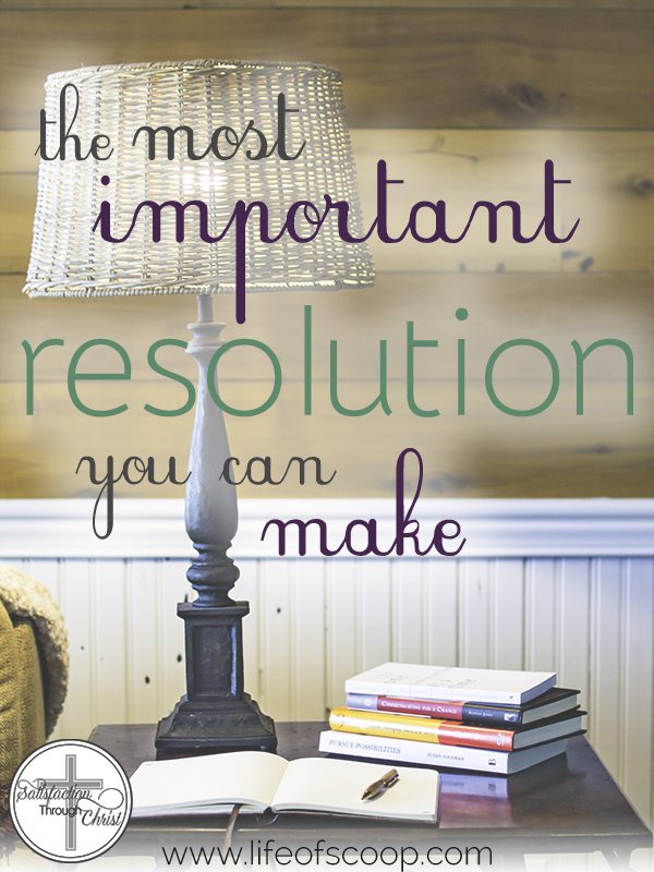 The Most Important Resolution To Make This Year