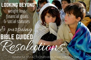 """Resolutions that are """"all about me"""" aren't always bad things, but as Christians it's good to set some resolutions that are about others as well. Will you resolve to be more missions-focused this year? From Shirley @ STC"""