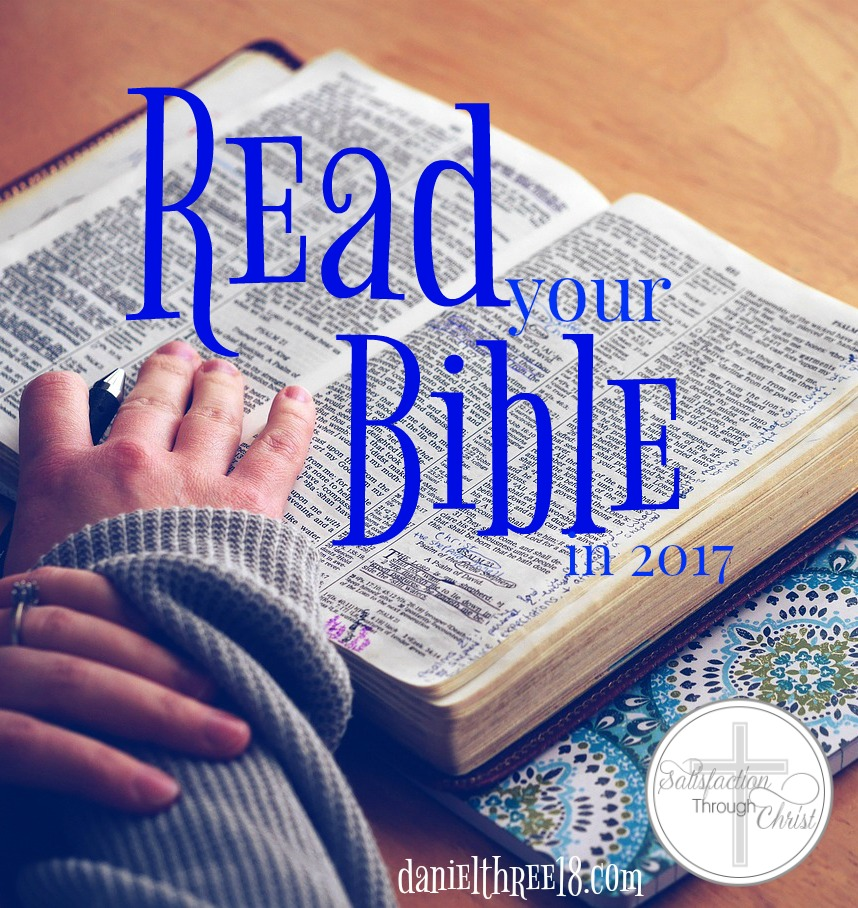 Read Your Bible in 2017 | Satisfaction Through Christ